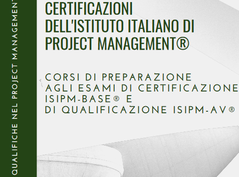 Certificazioni dell'Istituto Italiano di Project Management