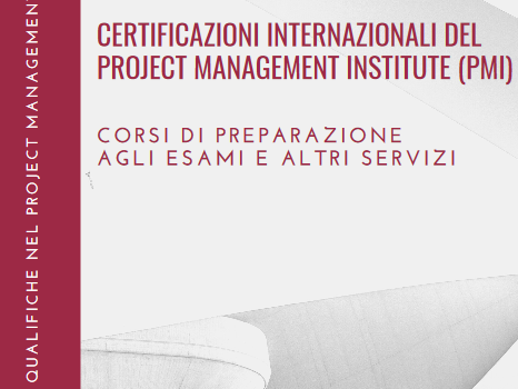 Certificazioni internazionali del Project Management Institute (PMI)