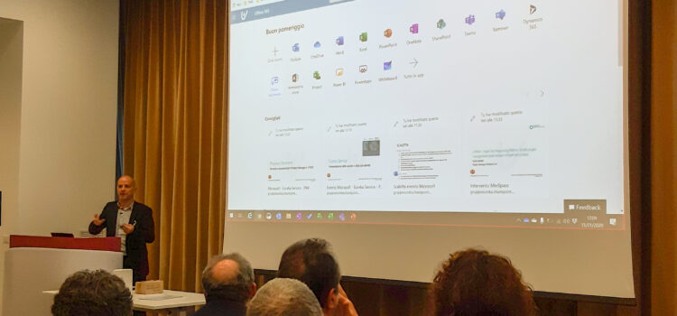 "Slide ""Project for the Web e nuovi tool Microsoft"" – evento 15gen2020 con Microsoft e PMI Central Italy"